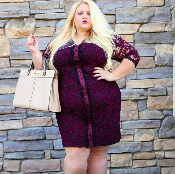 Dresses & Skirts - Size 22 lace dress designer brand